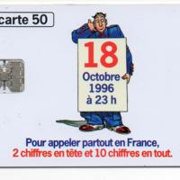 Telecarte Switching to 10-digit numbers