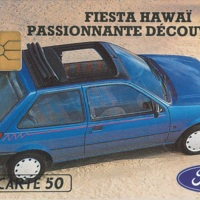 Telecarte 3615 Ford Fiesta Hawaii