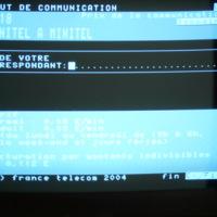 Screenshot of 3618 Minitel a Minitel