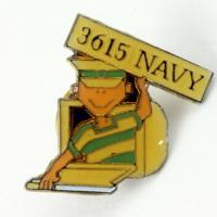3615 Navy Pin