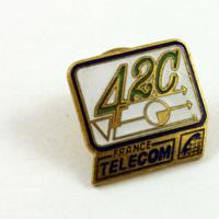 France Telecom 42C Pin
