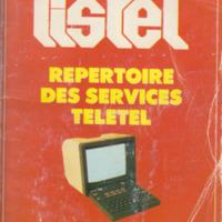 Listel: Repertoire des Services Teletel No. 5 (Janvier 1987)